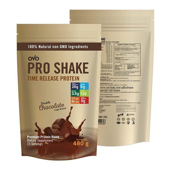 OVO PRO SHAKE โอโว่ โปรเชค โปรตีน เวย์
